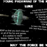 It's Partabulous Star Wars E-Invite